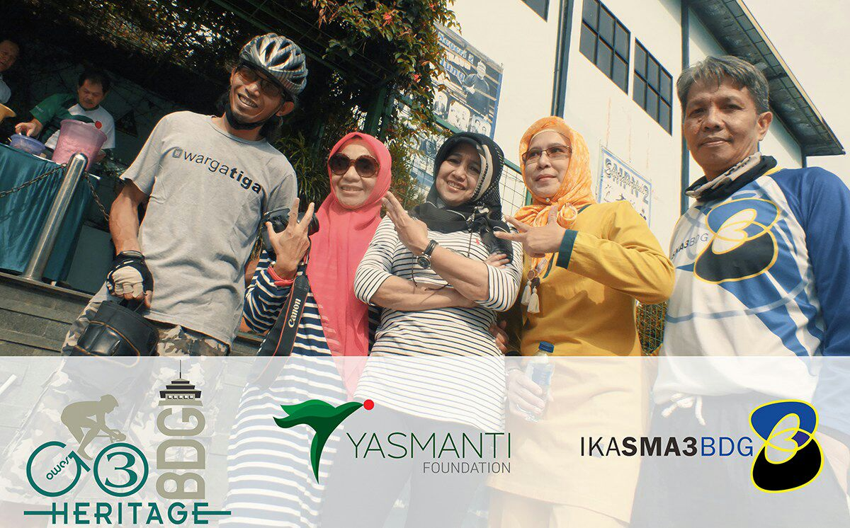 Gowes 3 GO Heritage Bandung